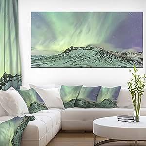冰岛北部光景观照片帆布艺术墙照片艺术品 印刷品