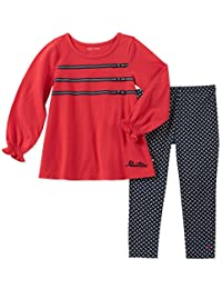Nautica 集 khq) 女童2件上衣裤子套装