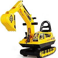 活石 仿真工程车 大号挖掘机可骑可坐挖土机模型儿童玩具挖机 (挖掘机履带款)