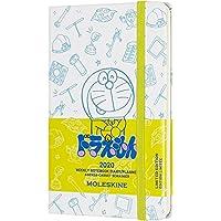 Moleskine 周記事本,袖珍日歷,12 個月,202020,Doraemon Pocket/A6 白色