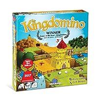 蓝色橙色 GAMES kingdomino Award Winning 家庭战略棋盘游戏