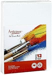 帆布板 - 12.70cm X 17.78cm 超值装艺术家油画板 48 Pack Canvas