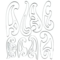 C-Thru 8-Piece French Curve Set (FC-8)