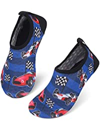 Centipede Demon 女士水鞋男士快干赤脚鞋水蓝色袜