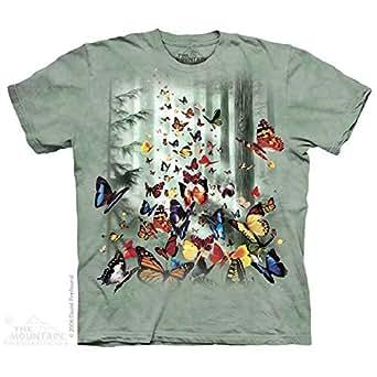 The Mountain T恤3d 101625夏季短袖圆领男女动物图案美国 SINGLE XL