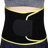 Voila Reve 腰部修剪器 - 高级宽握紧腰带加重*,抗* - 低背和腰部支撑男女