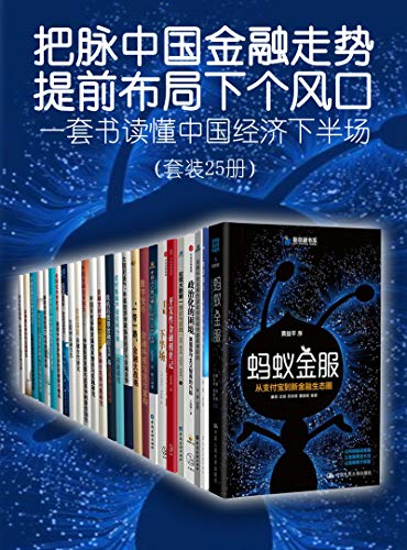一套书读懂中国经济下半场(套装共25册)