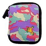 Sticky Pod 自行车袋口袋收纳袋,适用于针织口袋,时尚粉色