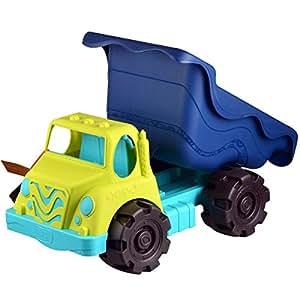 B.Toys 比乐 大号沙滩玩具车 运沙翻斗卡车 巡逻车 18个月+ BX1429Z 婴幼儿童益智玩具 礼物