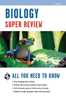 """Biology Super Review, 2nd. Ed. (Super Reviews Study Guides) (English Edition)"",作者:[Editors of REA]"