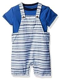 Gymboree 男童幼儿短袖条纹整体套装