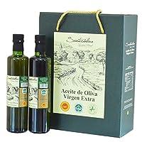 SUNTEROLIVA 尚特 PDO特级初榨橄榄油 礼盒装 500ml*2(西班牙进口)