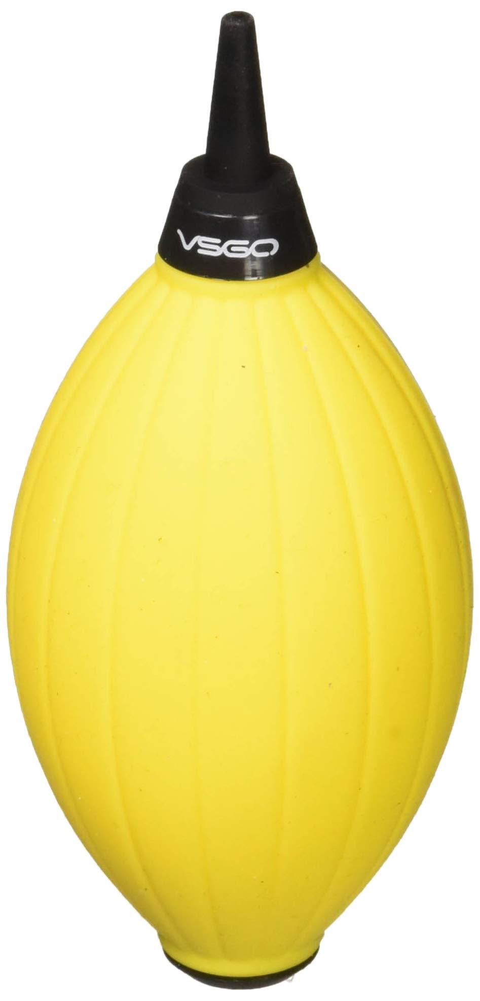 VSGOミニポータブル送風集塵機は、カメラレンズ、センサ、DVおよびコンピュータのキーボードに適しています - 黒(DDA -9-黒)VSGO DDA-9-黄色黄色