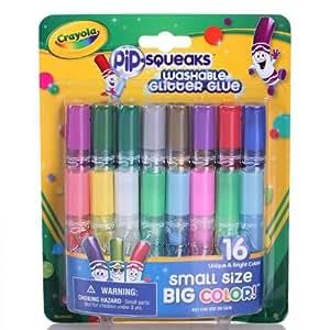 Crayola 绘儿乐 16色短杆胶水笔 69-4200