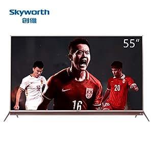 Skyworth 创维 55G7 55英寸 4K 超高清 智能 网络电视 液晶电视机 平面电视 国产电视机 平板电视 可开增值税专用发票 客服:0755-83181156