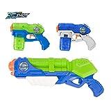 Zuru X Shot 促销包水枪玩具(台风雷神和 2 个小型隐秘浸泡器)