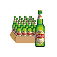 Kingfisher翠鸟 印度进口啤酒 印度餐厅啤酒 拉格啤酒 精酿啤酒330ml/瓶 (12瓶装)