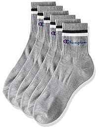 Champion 冠军 袜子 短筒袜 手写商标 3双装 男士