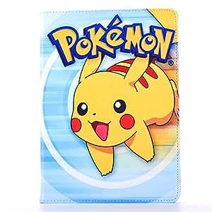 iPad Pro 12.9英寸保护套 phenix-color pokemon GO 高级翻盖支架 PU 皮革外壳保护套适用于苹果 iPad Pro 24.6cm #12 9.7 Inch