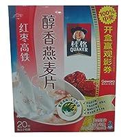 桂格醇香燕麦片红枣高铁540g