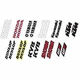 Factory Effex 19-44500 Black Universal Fork/Swing Arm Sticker 多种颜色