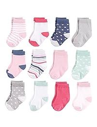 Hudson Baby 宝宝婴幼儿袜子,8个装