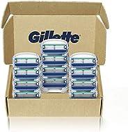 Gillette 吉列 男士剃须刀补充装,5,12支