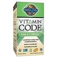 Garden of Life (生命花园) - 维生素代码未加工的B复合体 - 120 素食胶囊