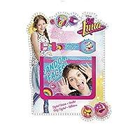 I Am Luna 套装带手链数字手表和钱包,Unica (欧洲儿童尺码 wd18193)