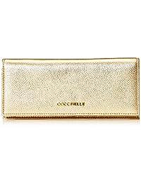 Coccinelle 金属色软皮 女式 时尚钱包 BW5 11 45 01 049 铂金色 20 * 1 * 9cm