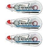 TOMBOW铅笔 修正带 MONO MONO MONO 5mm 3個 透明