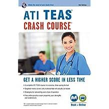 ATI TEAS Crash Course®  Book + Online: Get a Higher Score in Less Time (Nursing Test Prep) (English Edition)