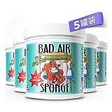 BAD AIR SPONGE 除甲醛空气净化剂*5罐(美国进口 包税包邮)