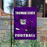 College Flags and Banners Co. Truman State 橄榄球头盔花园庭院旗
