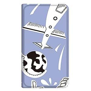 智能手机壳 手册式 对应全部机型 薄型印刷手册 cw-211top 套 手册 动画 极薄 轻量 UV印刷 壳WN-PR060911-L AQUOS Xx-Y 404SH 图案D