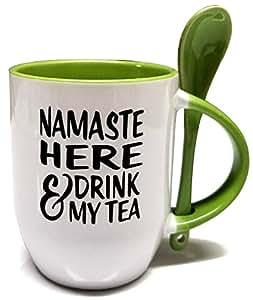 NaMaSte 马克杯 绿茶 12 盎司