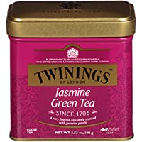 Twinings of London茉莉散茶罐,3.53盎司(6件装)