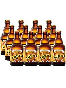 卡斯特 比利时进口 精酿啤酒 330ml/瓶 口味可选 (12瓶三料啤酒)