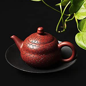 易信 紫砂茶壶手工雕刻泡茶壶泡茶器祥云壶商务礼品功夫茶具TF-5932