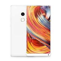 Xiaomi 小米 Mi MIX 2 智能手機 128GB (雙SIM,15.2 厘米(5.99 英寸)顯示屏,1200 萬像素攝像頭,Android 7.1.1)白色