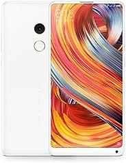 Xiaomi 小米 Mi MIX 2 智能手机 128GB (双SIM,15.2 厘米(5.99 英寸)显示屏,1200 万像素摄像头,Android 7.1.1)白色