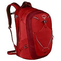 Osprey 男式 星云 Nebula 34 红色 均码 双肩背包 户外旅行耐用徒步城市日用背包电脑包放15寸笔记本防泼水大容量背包 三年质保终身维修(两种LOGO随机发)【城市系列】