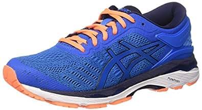 Asics Men's Gel-Kayano 24 Running Shoes, Blue (Directoire Blue/Peacoat/Hot Orange), 5 UK 39 EU