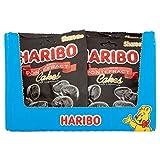 HARIBO Pontefract Cakes 1.7kg Soft Liquorice Licorice, 140g x 12 packs, (1.7kg total bulk sweets)