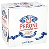 Peroni 佩罗尼 蓝带啤酒 Nastro Azzurro 5.1%vol 330毫升X24瓶 意大利进口 啤酒