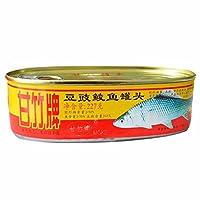 甘竹 豆豉鲮鱼罐头 1362g(227g*6)(亚马逊自营商品, 由供应商配送)