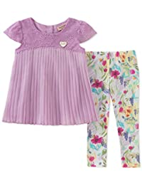 JUICY Couture 女童束腰上衣 + 打底裤套装