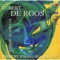 进口CD:亮丽弦乐四重奏 Roos:String Quartets(CD)60316132