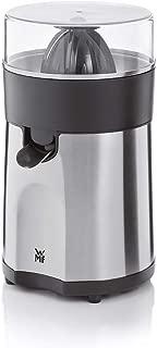 WMF 福騰堡 STELIO柑橘榨汁機 (85W 電動 帶2個圓錐刀片 果汁直接流入玻璃杯) Cromargan制材 啞光/銀