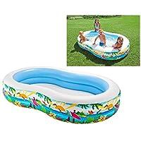 Intex Paradise 海濱游泳池 1 SIZE 白色/藍色